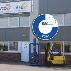 VCC BV en ASE Repair BV behalen VCA Certificering