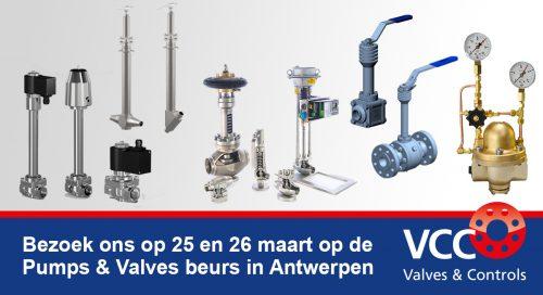 Beurs Pumps & Valves - VCC BV