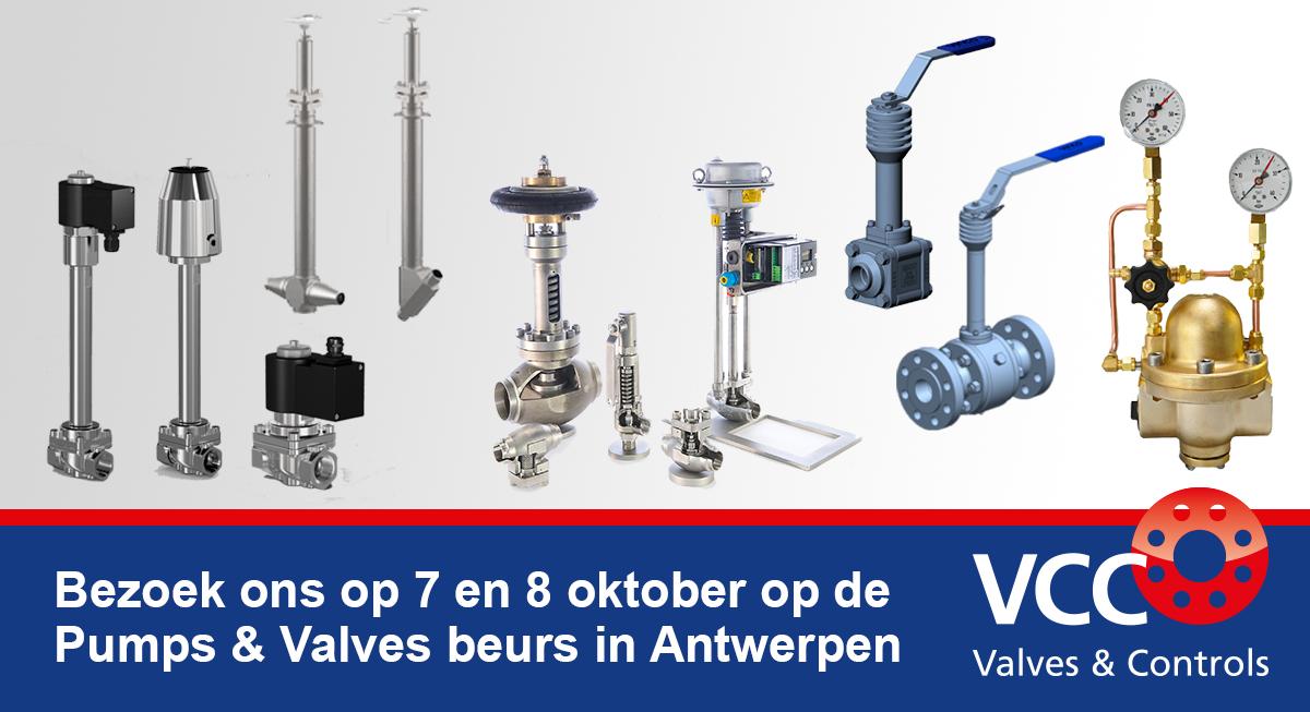 Vakbeurs Pumps & Valves - VCC BV