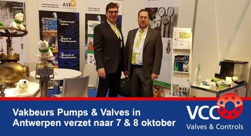 Pumps & Valves Beurs - Antwerp Expo - VCC BV Herose