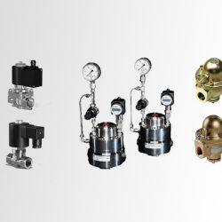 Uitbreiding cryogene pakket: magneetventielen, top entry afsluiters en drukregelaars