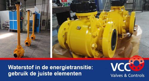 Waterstof - VCC BV - Afsluiters