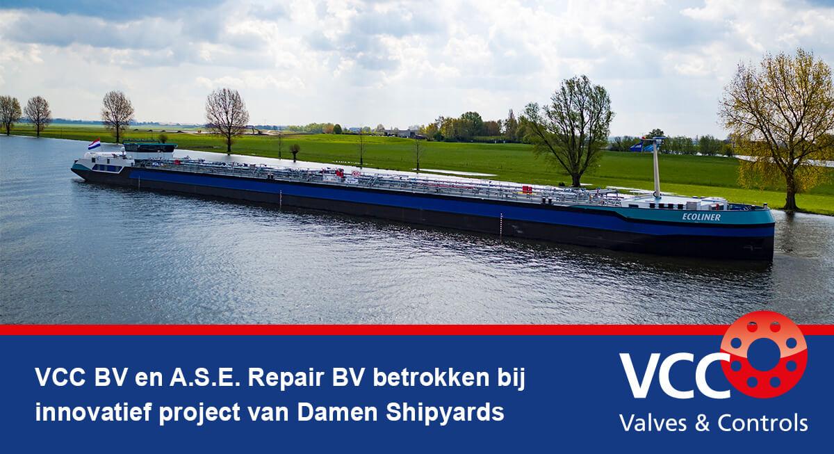 Damen Shipyards en VCC BV werken aan innovatief project