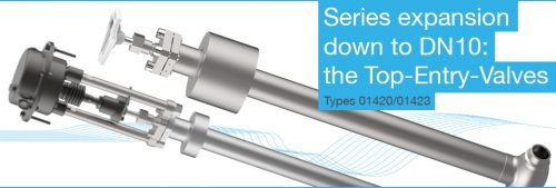 Top Entry Valves - DN10