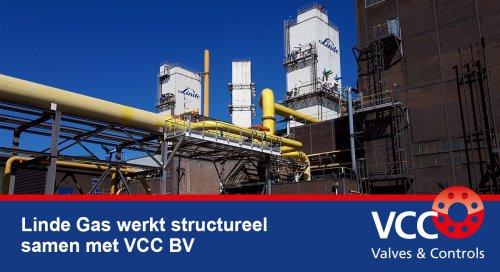 Linde Gas - VCC BV - Samenwerking