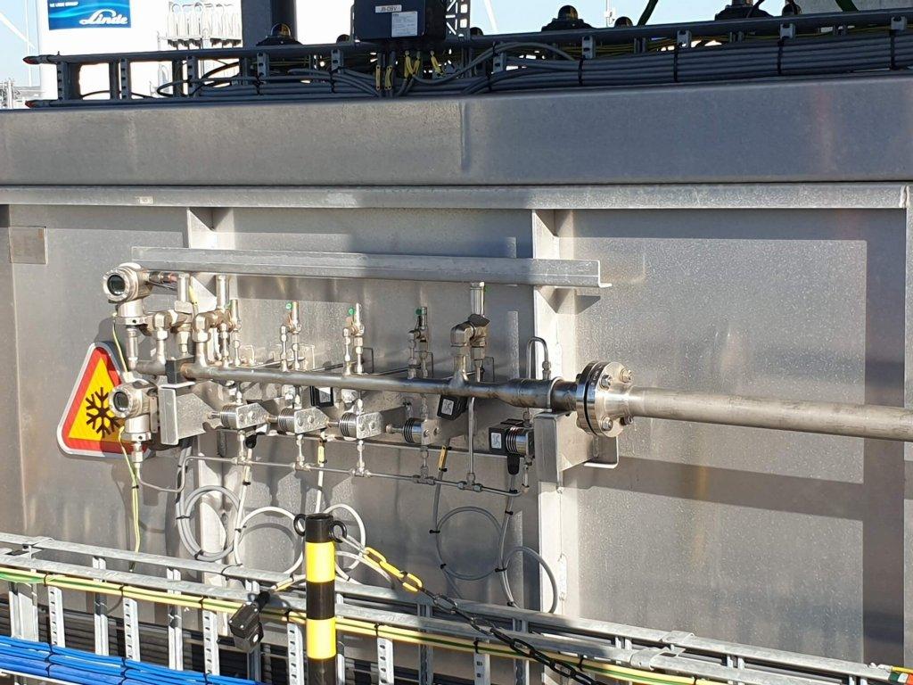 Thermische expansie cryogene installatie 1