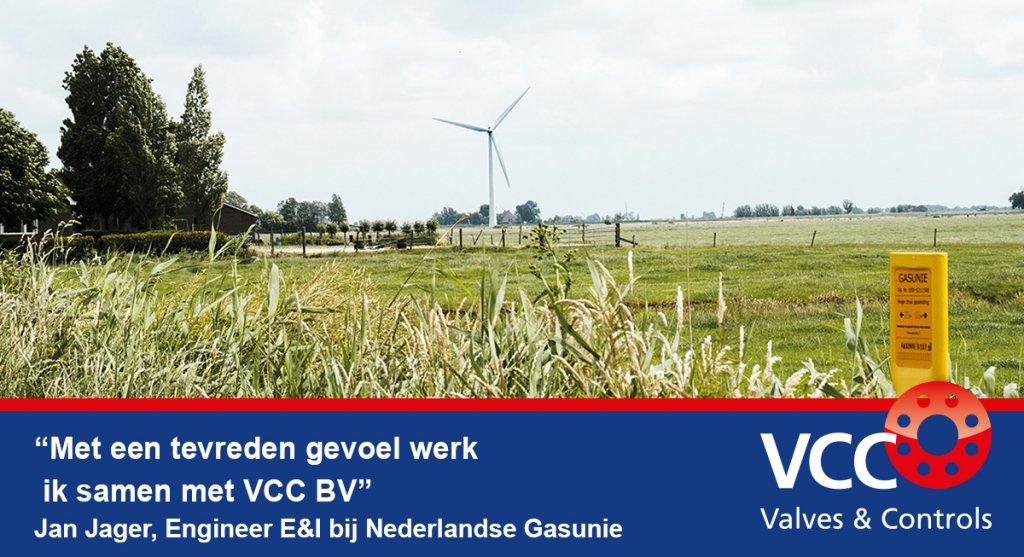 Testimonial Jan Jager Gasunie VCC BV