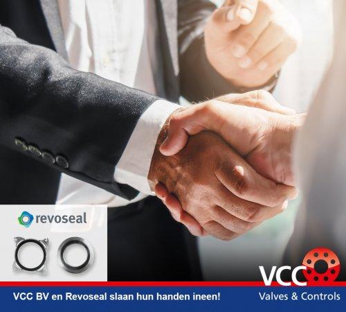 VCC BV en Revoseal slaan hun handen ineen!