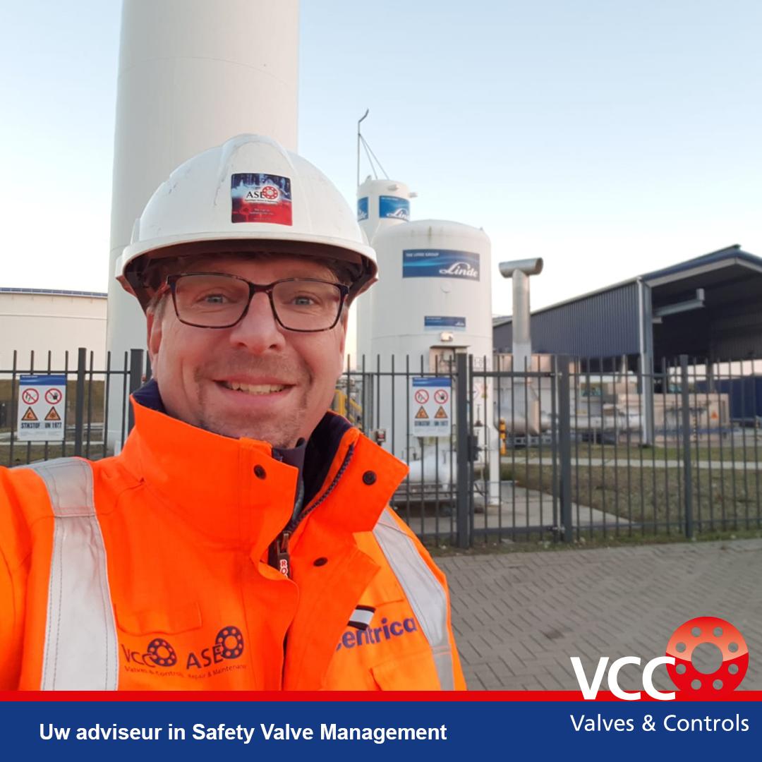 Ron van de Weerd - VCC BV - Safety Valve Management