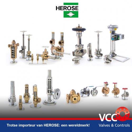 Trotse importeur van HEROSE - VCC BV