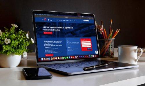 Laptop Mock-up - VCC BV