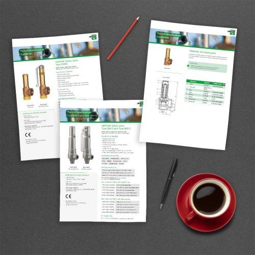 Nieuwe product sheets VCC BV - HEROSE