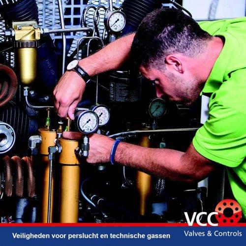 VCC BV Perslucht en technische gassen