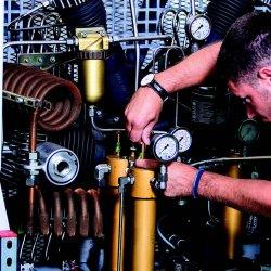 Veiligheden voor perslucht en technische gassen
