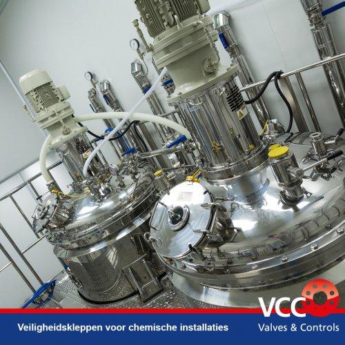 VCC BV - Branche Chemical - Veiligheden afsluiters regelkleppen