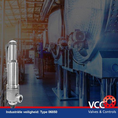 Product Type 06850 - 06855 - VCC BV HEROSE - Safety valve